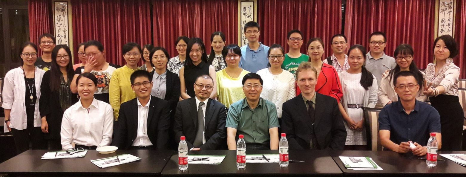 Attendees of the Shanghai seminar with patron Prof. Dr. Hongbin Zhang  (Front row, third from right)